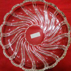 Mikasa Clear Platter